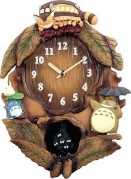 amazon com citizen my neighbor totoro rhythm clock m837n