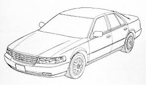 cadillac sts clipart clip library