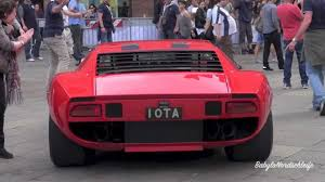 lamborghini miura lamborghini miura jota start up u0026 sound youtube