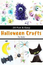 20 halloween crafts for kids easy halloween
