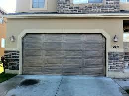 matched to exterior saratoga garage entry door