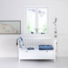 white bench storage small window bench small bench in seaside