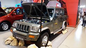 jeep car mahindra file mahindra enforcer dc front view jpg wikimedia commons