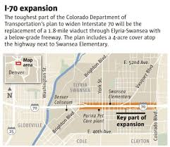 denver light rail expansion map i 70 project through northeast denver receives final approval from