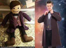 eleventh doctor halloween costume 10th doctor knit doll wibbly wobbly knits