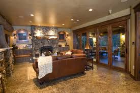 ultimate rustic basement ideas with home decor interior design