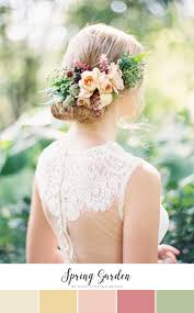 10 of the prettiest spring wedding color palettes chic vintage