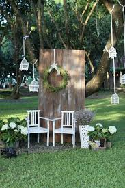 Wedding Photo Booth Backdrop Photo Booth Backdrop With Wood And Green Elements Details
