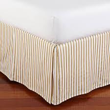 Bed Frame Skirt The Emily Meritt Metallic Stripe Bed Skirt Pbteen