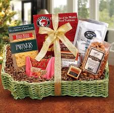 gift baskets for college students bite of washington gift basket for college