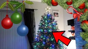our christmas tree is super lit youtube
