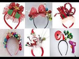christmas headbands diy christmas headbands ideas