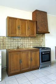 peinture bois meuble cuisine la peinture pour meuble de cuisine qui ne cache pas le bois