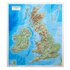 Lake District England Map by Relief Maps Our Relief Maps Large Format Maps