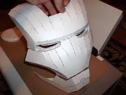 iron man helmet build part 1 cutting u0026 assembling youtube