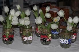 high school graduation party centerpieces fantado regular clear jar 16oz 1 pint graduation