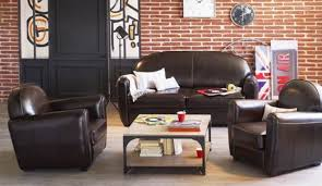 canapé cuir style anglais afficher l image d origine maison idee deco salon