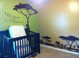beautiful lion king african themed nursery kids room so very