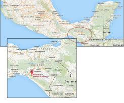 chiapas mexico map fig 1 location of la sepultura and biosphere reserve