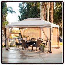 Outdoor Gazebo With Curtains by Outdoor Gazebo Canopy Tent Shade Curtains Patio Furniture Net Yard