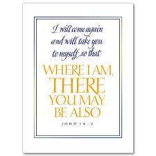 i will come again sympathy card