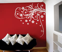 bedroom decor elegant awesome wall sticker ideas enhance your