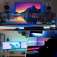 Gaming Desk Setup by Missed It Top 5 Tech Youtuber Gaming Desk Setups 2017 Marzbar