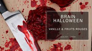 gateau cervelle d u0027halloween le brain cake vegan vanille