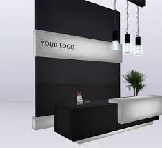 Dental Reception Desk Designs Reception Counter Customized Spa Ideas Pinterest Reception