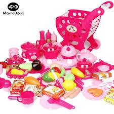 kit de cuisine pour enfant 63 pcs ensemble ustensiles de cuisine jouets pour enfants avec