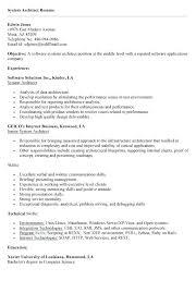 web architect resume system architect resume u2013 foodcity me
