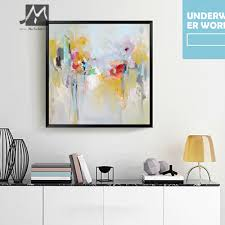 aliexpress com buy muya 100 handmade decorative canvas painting aliexpress com buy muya 100 handmade decorative canvas painting mural paintings acrylic canvas oil paintings wall picture for living room from reliable