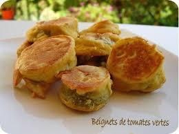 cuisiner tomates vertes beignets de tomate verte cuisine et dépendances