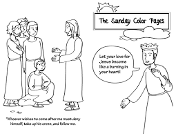 saints coloring page sunday ordinary time pages 578331 coloring