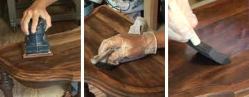 how to refinish a desk how to refinish furniture today s homeowner
