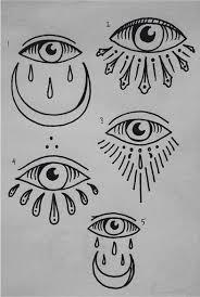 resultado de imagen para simple all seeing eye tatuajes