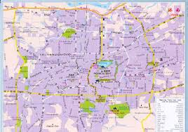 Wuhan China Map by Jinan Map U0026 Introduction China Maps Map Manage System Mms