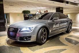 my audi test driving audi s a7 autonomous car at ces 2014 digital trends