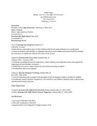 Resume Sle After School Program resume templates after school counselor exle guidance sle
