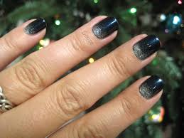 goose u0027s glitter the 12 days of christmas nails day 2 frosty night