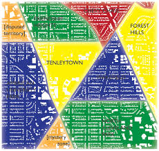 Map Of Washington Dc Neighborhoods by Geography