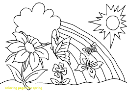 preschool coloring pages bugs spring coloring pages printable for with 7 kids ribsvigyapan com