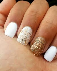 70 unique nail design ideas 2017 white gold winter nails and