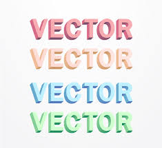 create 3d letters without the use of 3d tools in adobe illustrator