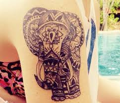 tribal elephant tattoo 30 aztec elephant designs 2018
