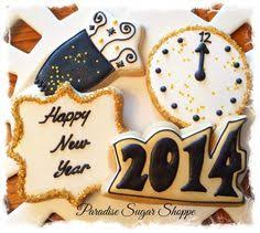 New Years Eve Decorated Cookies new year u0027s eve sugar cookies nye 2015 http monikahibbs com