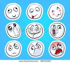 Different Meme Faces - meme faces download free vector art stock graphics images