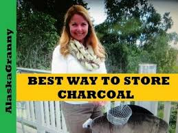 best way to store charcoal