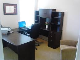 unique u shaped office desk for two person glass top reception o