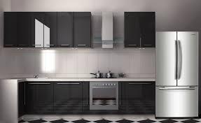 cuisine du frigo frigo americain dans cuisine equipee dco cuisine equipee en bois